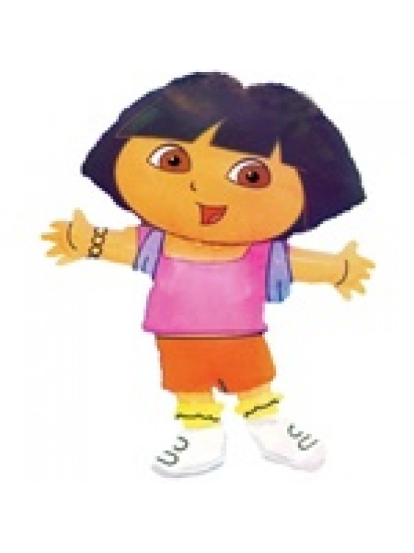 SUPER SHAPE LOOSE DORA THE EXPLORER FOIL