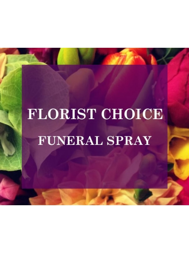 Florists Choice Funeral Spray
