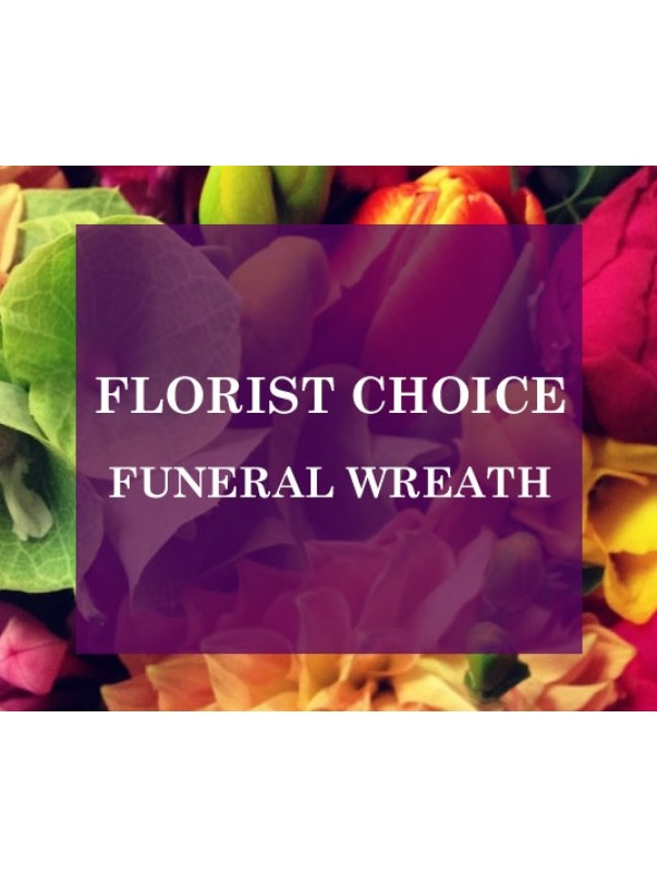 Florists Choice Funeral Wreath
