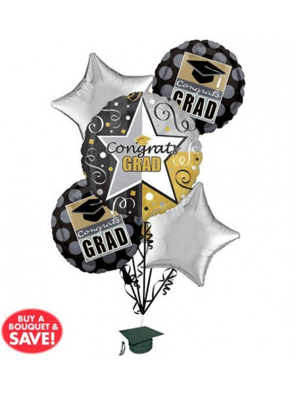 Graduation Balloon Bouquet (5)