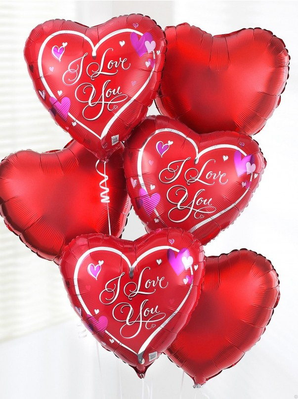 I Love You Balloon Bouquet (5)
