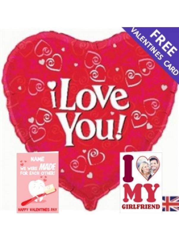 i Love You! - Balloon In Box