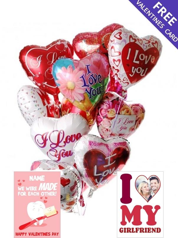 12 Valentine's Day Balloons