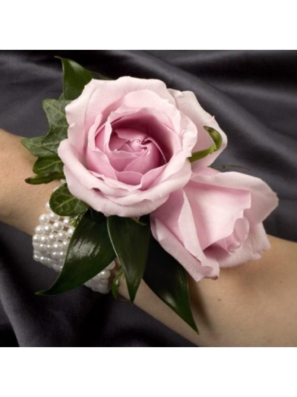 Pink Rose Debs Corsage