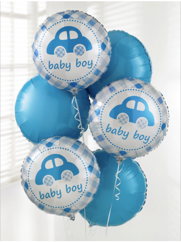 It's A Boy Balloon Bouquet (5)