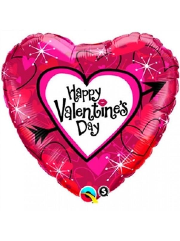 Vaalentines Day Balloon - Cupids Heart
