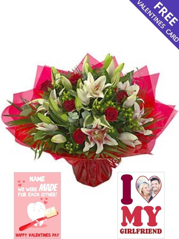 Luxury Valentines Bouquet