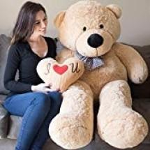 Giant Teddy Bear 5 Feet Tan Color Ultra-Soft