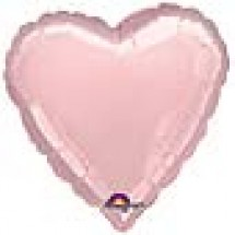 Pink Heart Shaped Helium Balloon
