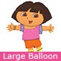 Large Dora Balloon