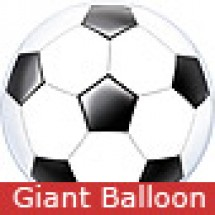 Large Football Bubble Balloon