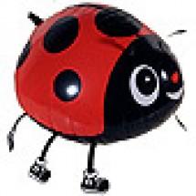 Walking Ladybird Animal Balloon