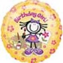 Planet Happy Girl - Order Balloon for Birthday