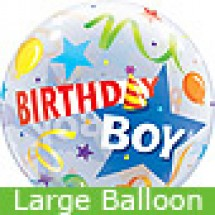 Large Birthday Boy Party Hat Balloon