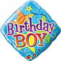 Birthday Boy Stars Balloon