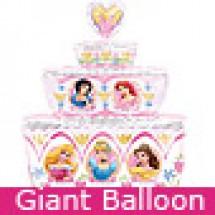 Large Disney Princess Birthday Cake Balloon