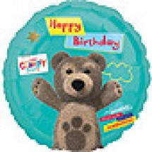 Little Charley Bear Happy Birthday Balloon