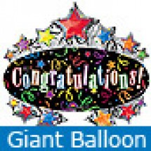 Large Congratulations Marquee Balloon