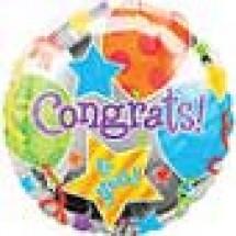 Congratulations Jubilee Balloon Gift