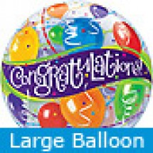 Large Congratulations Balloons Helium Balloon