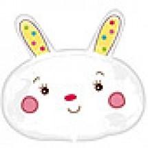 Little White Bunny Balloon