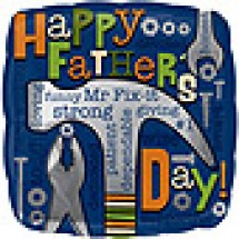Mr. Fix It Father's Day Balloon