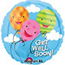 Get Well Soon Balloon Gift