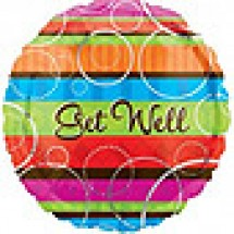 Colourful Get Well Balloon