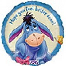 Eeyore Get Well Balloon