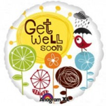 Get Well Soon Birdie Balloon