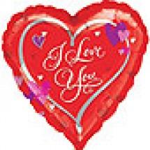 Love Script Balloon - Love Present