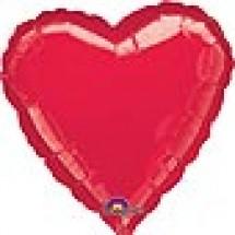 Red Balloon Heart