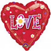 Daisy Love Balloon Gift