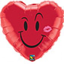 Naughty Smile and Kiss Balloon