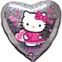 Hello Kitty Love Hearts Balloon