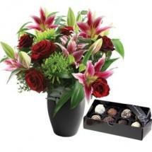 Valentines Cupid & Luxury Chocolates