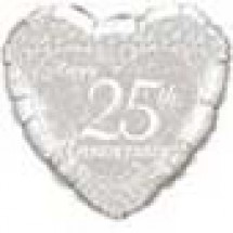 25th Happy Anniversary Balloon