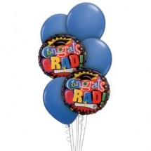 Graduation Balloon Bouquet 5