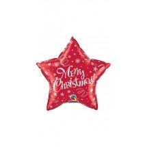 Christmas Reindeer 18 Foil Balloon