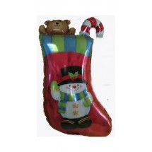 Christmas Stocking Super Shape Foil Balloon