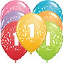 1st Birthday Stars Balloons