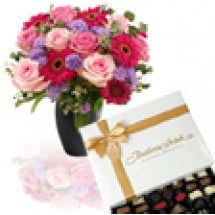 Luxury Bouquet & Butlers Chocs