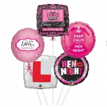 Hen Night Balloon Bouquet (5)