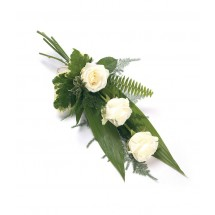 3 White Rose Sheaf