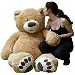 "Giant 5 Foot Teddy Bear (60"")"