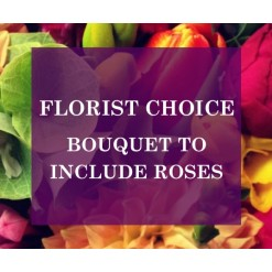 Florists Choice Bouquet To Include Roses