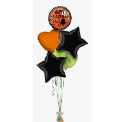 Halloween Balloon Bouquet (5 Balloons)