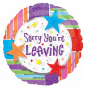 Sorry Your Leaving Balloon