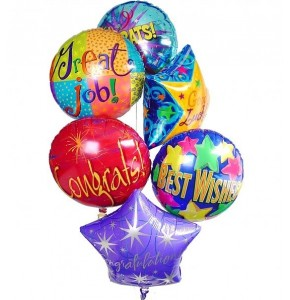 Good Luck Balloon Bouquet (5)