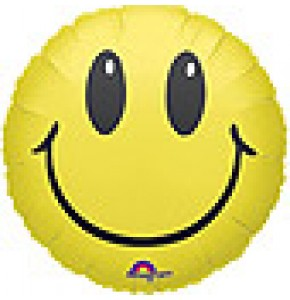 Smiley Helium Balloon Delivery